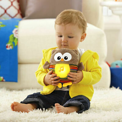 Fisher-Price Soothe & Glow Owl Baby Comfort Toy