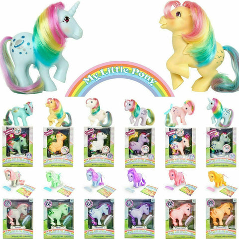 My Little Pony Classic Vintage Retro Ponies 1983