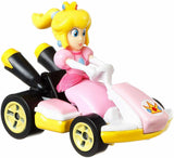 Hot Wheels Mariokart Peach Die-cast Standard Kart