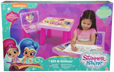 Sambro Shimmer and Shine Sit and Colour