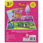 Trolls My Busy Book Includes 12 Figures + Play Mat