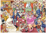 Wasgij 29 Catching Wedding Fever Jigsaw Puzzle