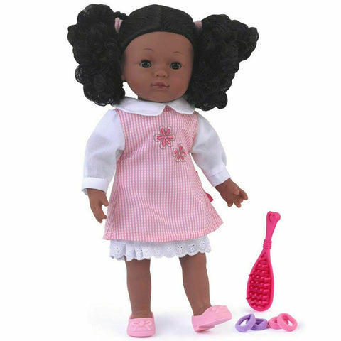 World Charlotte Black Doll Sleeping Eyes Outfit