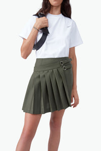 Asymmetric Mini Kilt
