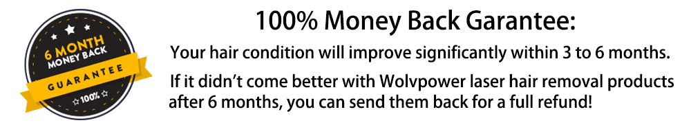 100% money-back guarantee - Wolvpower