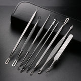Blackhead Removal Tool 8 Pieces Pimple Acne Removal Blackhead Extractor