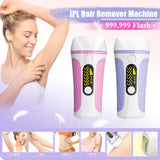 IPL Laser Hair Removal Handset Whole Body & Facial Painless Removal Device