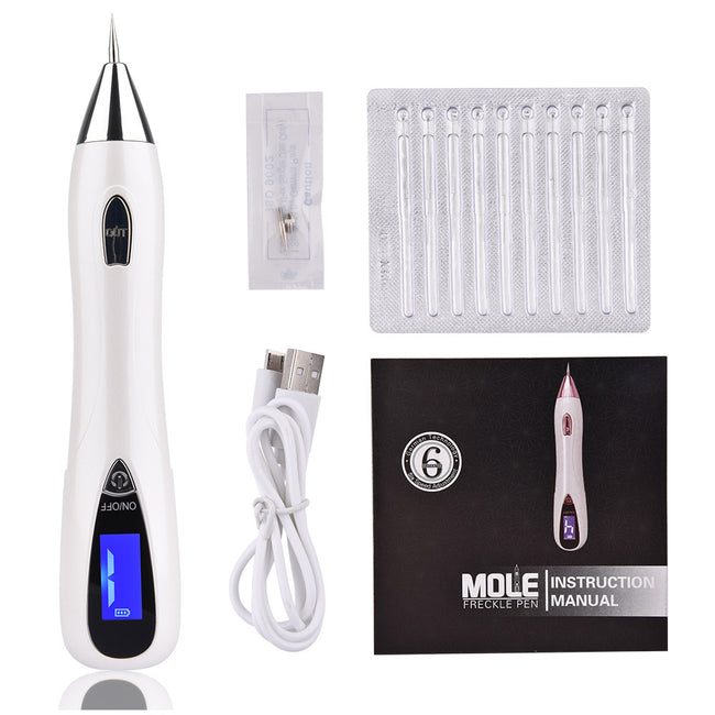 Skin Care LCD Display Laser Mole Removal Tool Removing Wart Corns Dark Spot