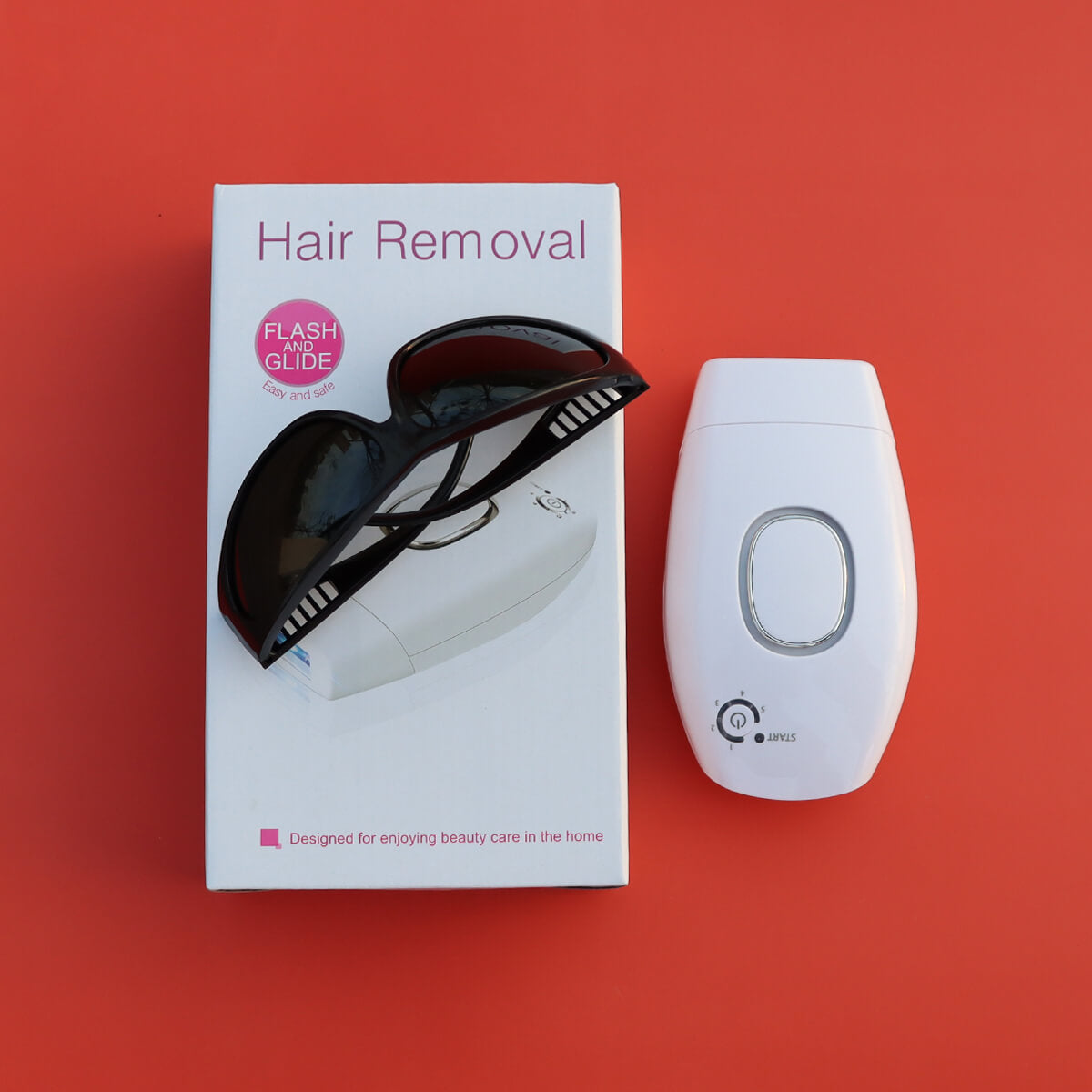 IPL Laser Hair Removal Device At Home