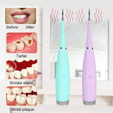 Ultrasonic Tooth Cleaner At Home Remover Tooth Stains Tartar Tool