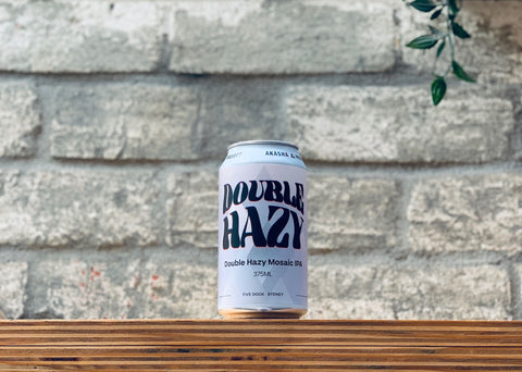 Akasha Brewing Co. Double Hazy Mosaic IPA (375ml)