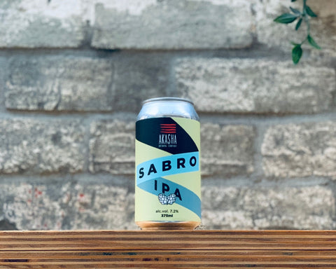 Akasha Brewing Co. Sabro Hop IPA (375ml)