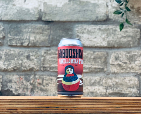 Hargreaves Hill Babooshka Vanilla Milk Stout (440ml)