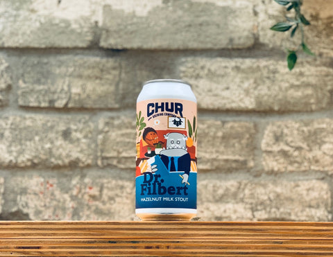 Chur Dr. Filbert Hazelnut Milk Stout (440ml)