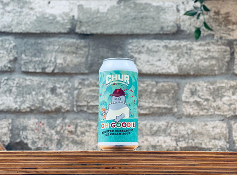 Chur Oh Goodie Fruited Bubblegum Ice Cream Sour (440ml)