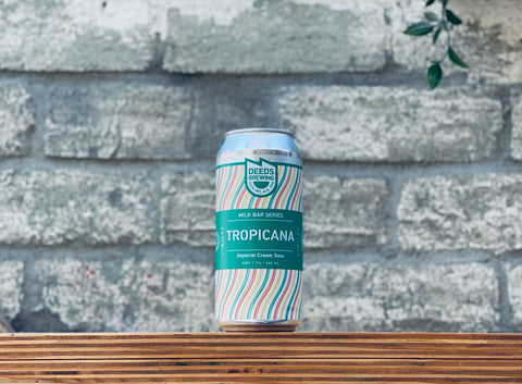 Deeds Brewing Milk Bar Series Tropicana Imperial Cream Sour (440ml)