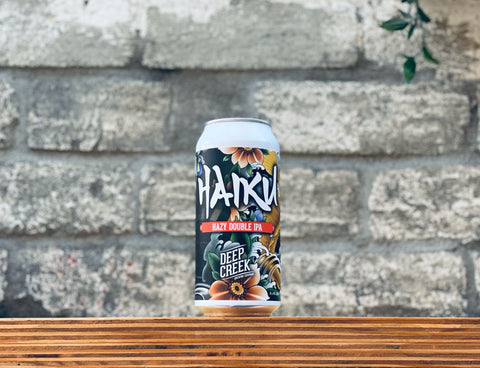 Deep Creek Haiku Hazy Double IPA (440ml)