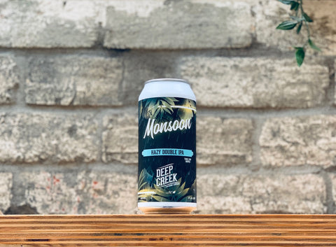 Deep Creek Monsoon Hazy DIPA (440ml)
