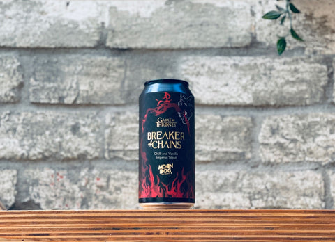 Moon Dog x GOT Breaker Of Chains Chilli & Vanilla Imperial Stout (440ml)