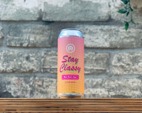 Mr Banks Stay Classy West Coast Lager (500ml)
