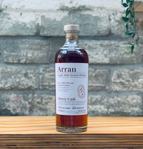 Arran Single Malt Scotch Whisky Sherry Cask