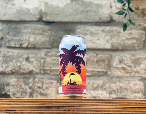 Tallboy & Moose Un Poco Loco Coconut Oat Cream IPA (440ml)