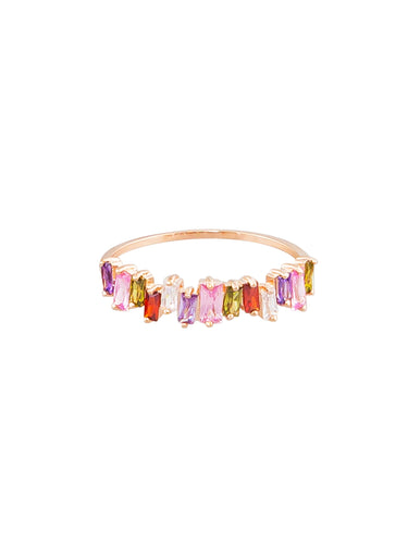 Multi Crystal Ring