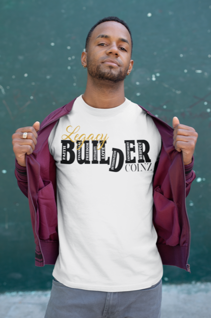 Legacy BUILDER Unisex T-Shirt - White
