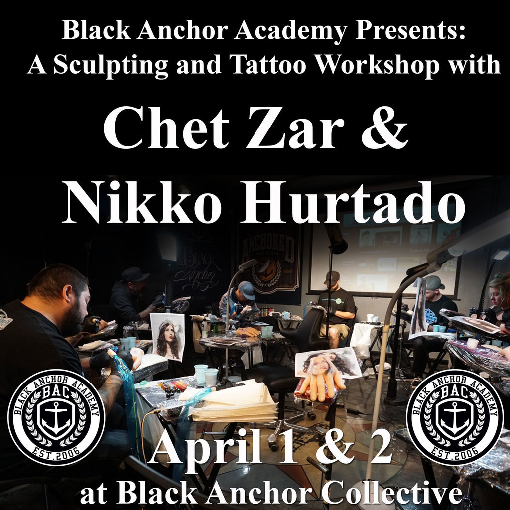 Black Anchor Academy Presents: Chet Zar and Nikko Hurtado Workshop
