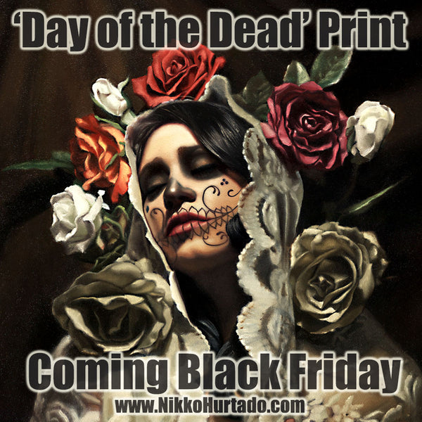 """Day of the Dead"" Print to be released on Black Friday"