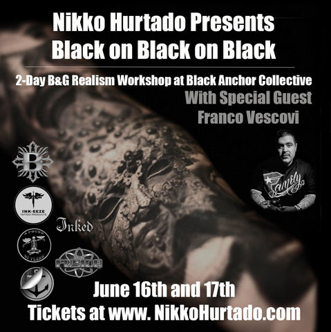 "Nikko Hurtado Presents: ""Black on Black on Black"" A 2-Day Realism Workshop at Black Anchor Collective"