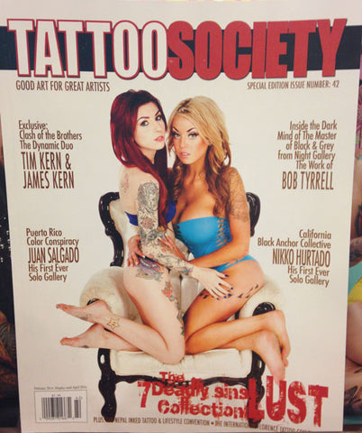 Renati Collection Featured in Tattoo Society Issue 42