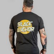 Black Anchor Short Sleeve T-Shirt