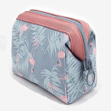 Load image into Gallery viewer, Women Travel Animal Flamingo Make Up Bags