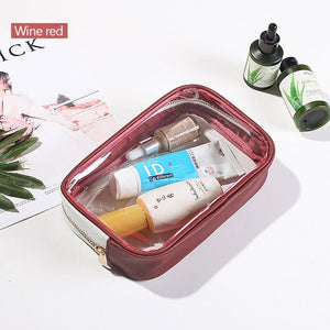Clear Toiletry Bag With Zipper - Carry On - Carry On