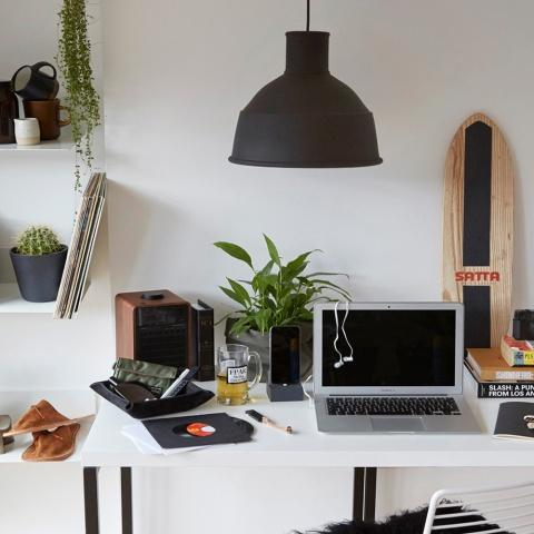 Curated Spaces: Working From Home
