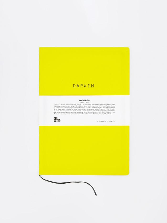 The School of Life The School of Life Big Thinkers Notebooks : Darwin & Woolf - Other