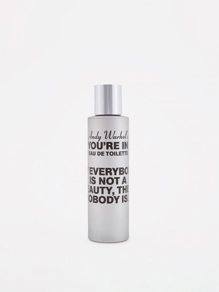 Comme des Garcons Parfums CDG x Andy Warhol You're In If Everybody Is Not A Beauty Eau d - 100ml - Silver