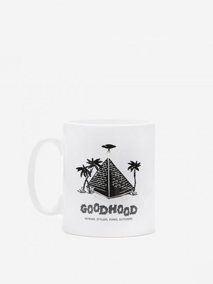 Goods By Goodhood Goods by Goodhood Pyramid Mug - White - White