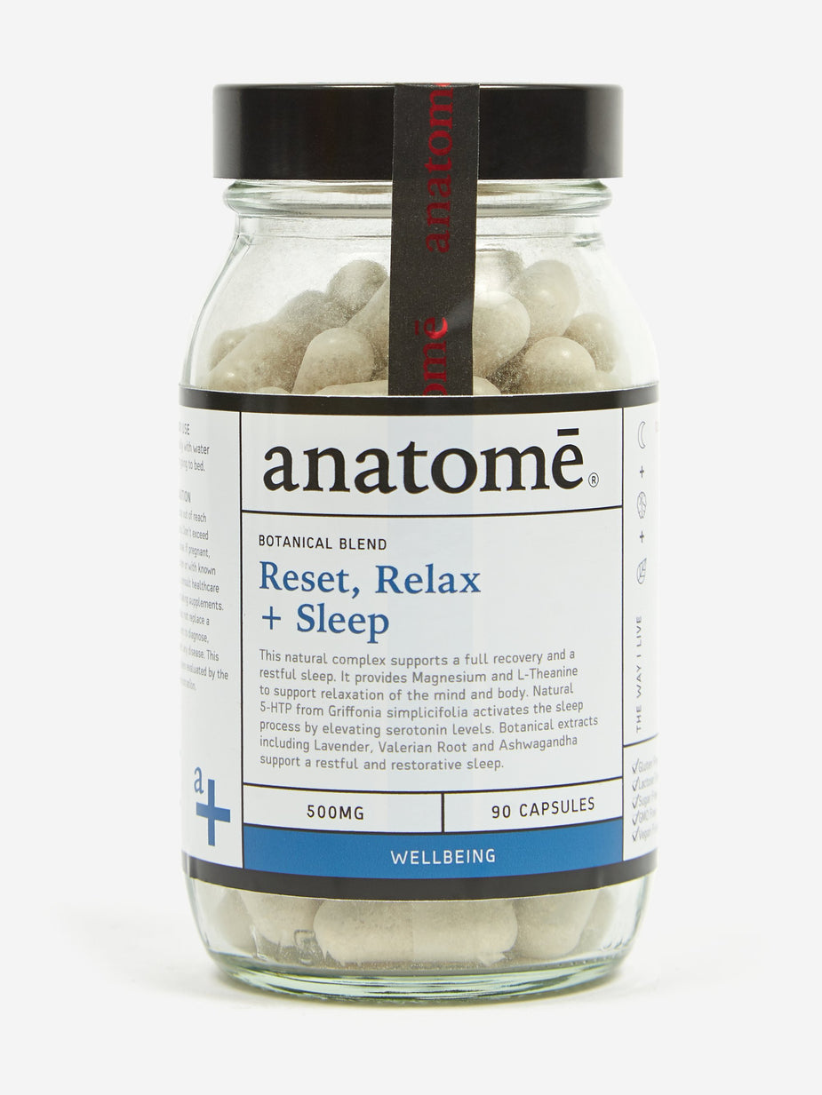 Anatome Anatome Reset, Relax & Sleep - 60 Tablets - Multi - Multi