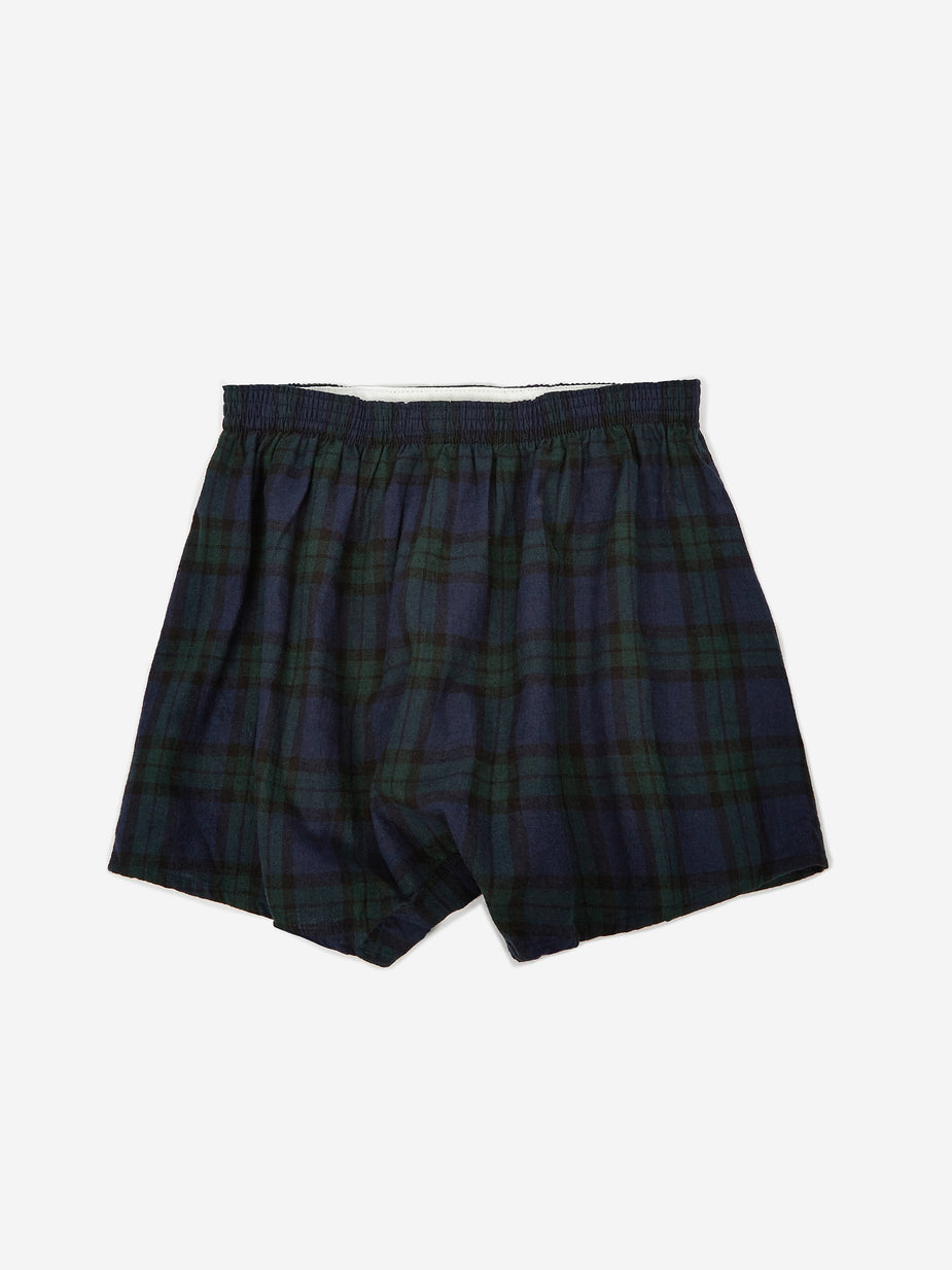 Anonymous Ism Anonymous Ism Boxer - Navy Check - Blue