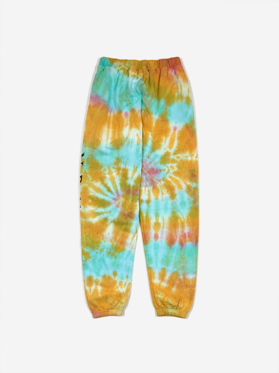Aries Aries No Problemo Tie Dye Sweatpants - Multi - Multi