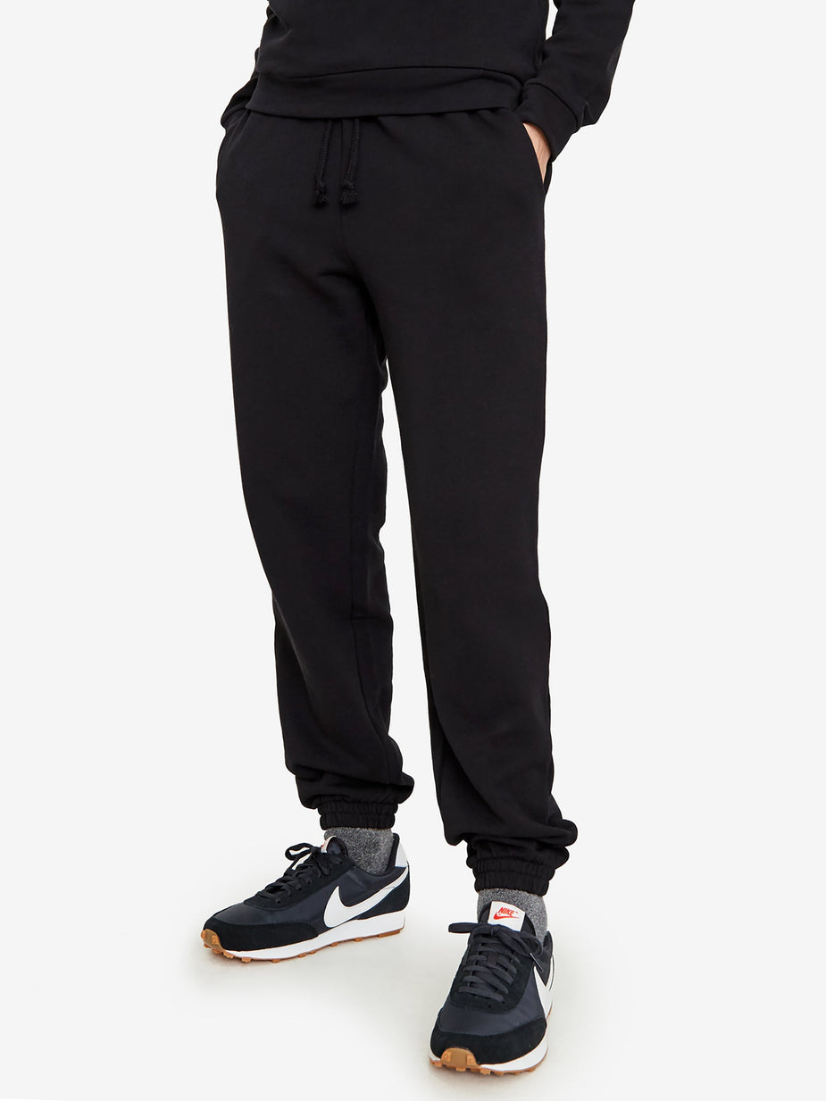 Baserange Baserange Basic Sweat Pants - Black - Black