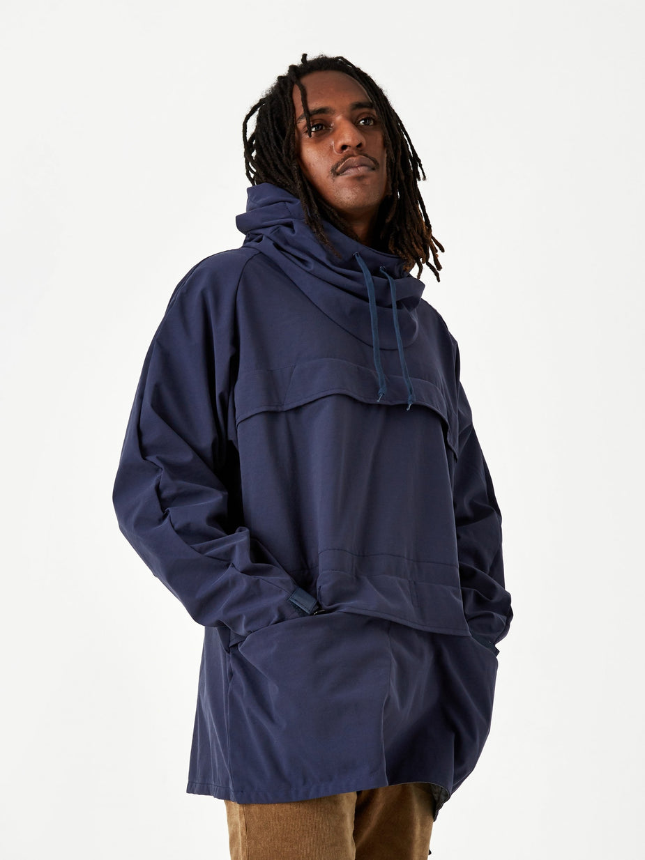 Beams Plus Beams Plus Euro Anorak 2.5L Jacket - Navy - Blue