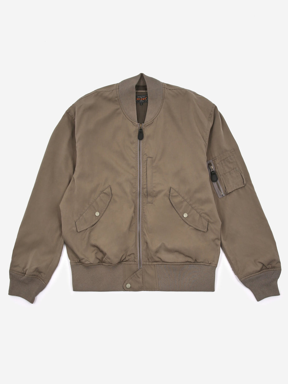 Beams Plus Beams Plus L-2 Type Bomber Jacket - Sage - Green