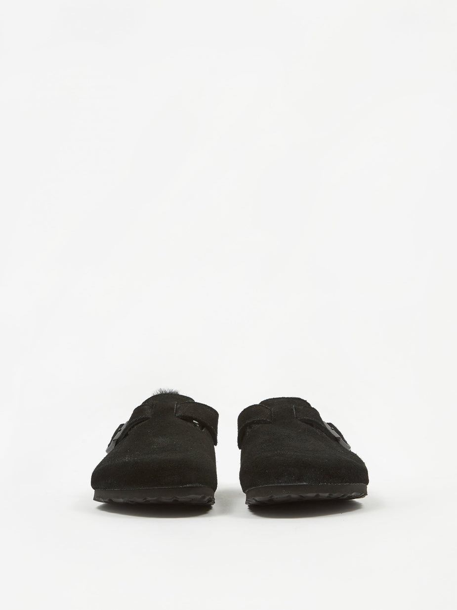 Birkenstock Birkenstock Boston - Black Shearling - Black