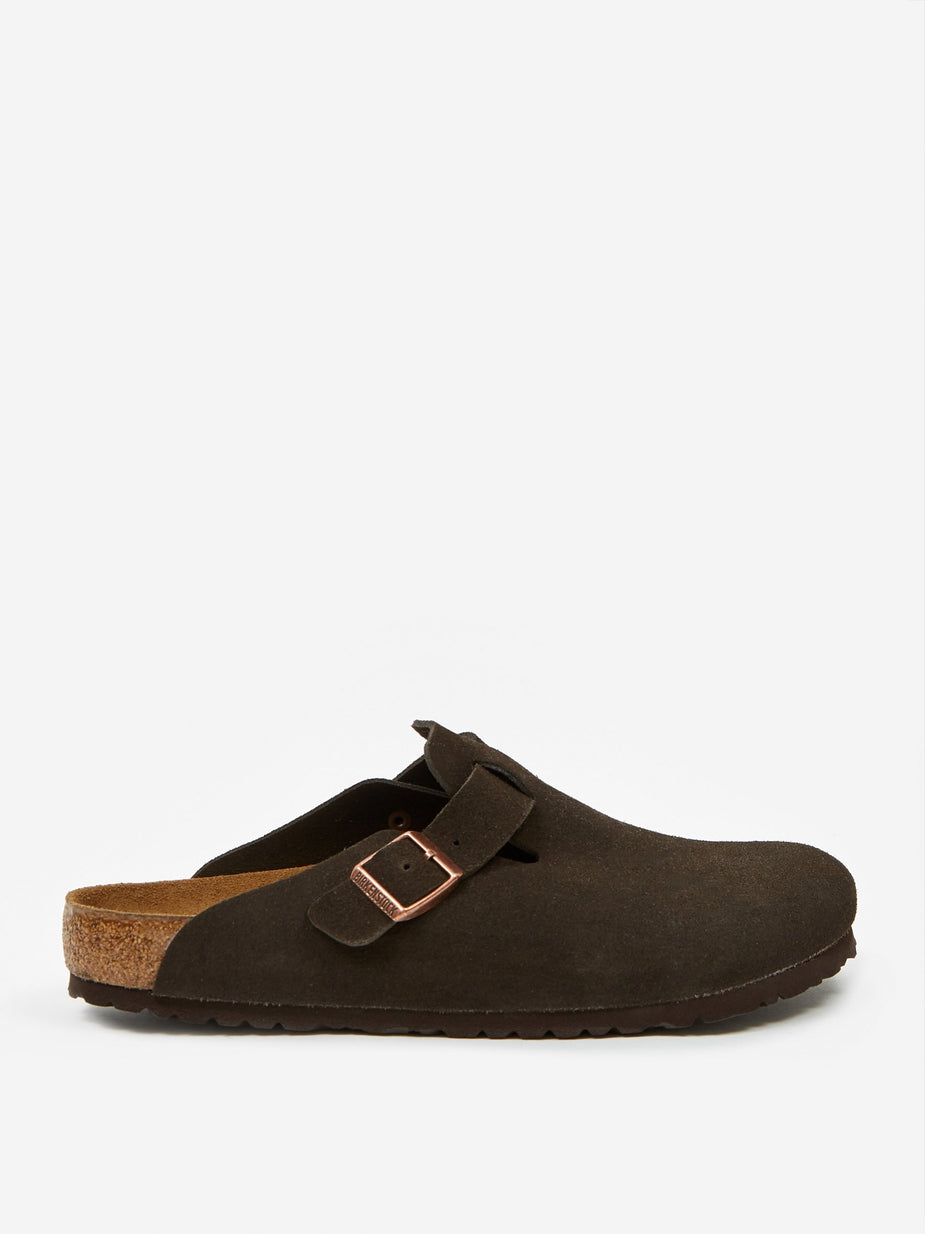 Birkenstock Birkenstock Boston Suede - Mocha - Brown