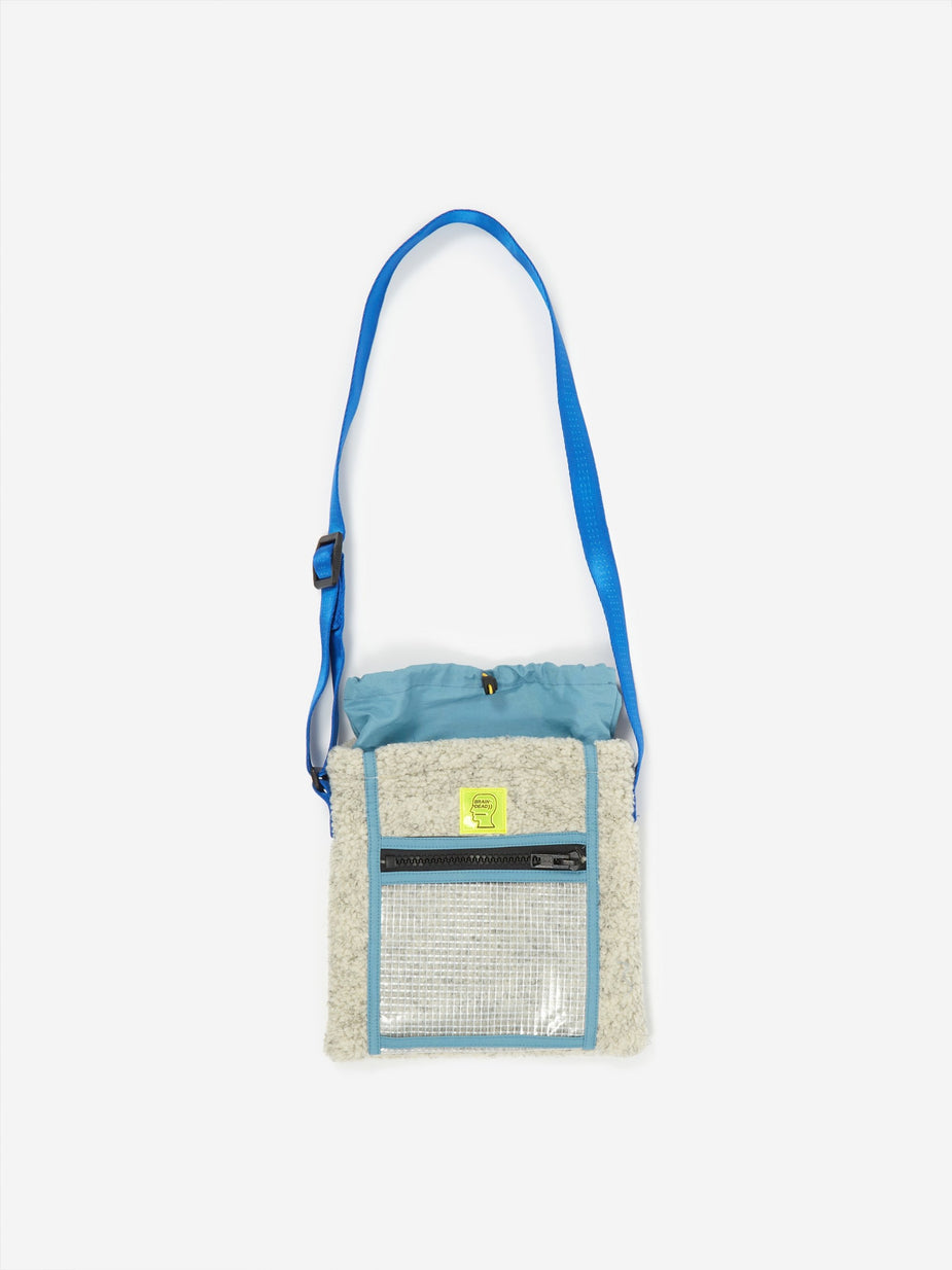 Brain Dead Brain Dead Rush Hour Tote Bag - Cream/Blue - Blue
