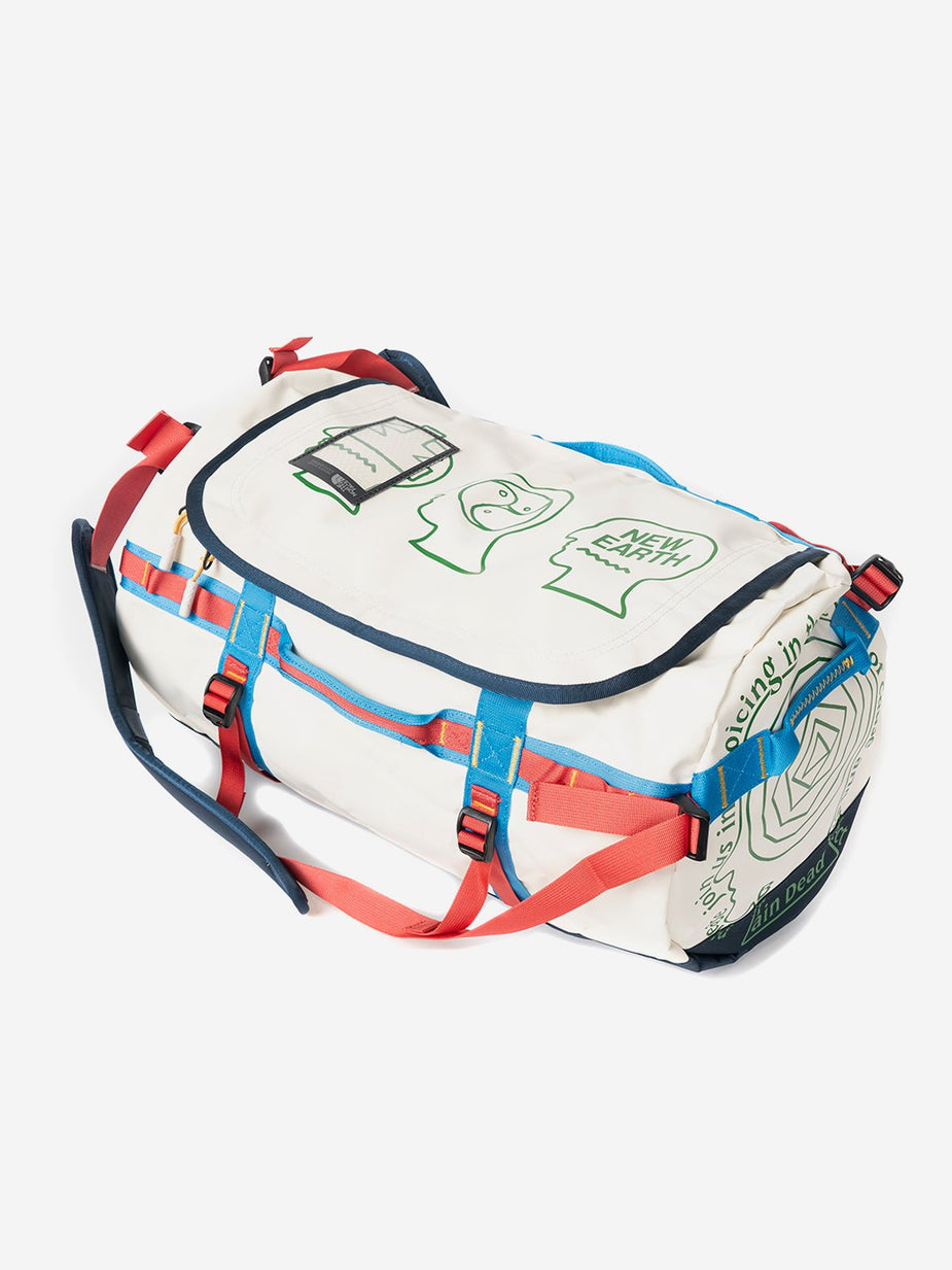 Brain Dead Brain Dead x The North Face Duffel Bag Small - Vintage White - White
