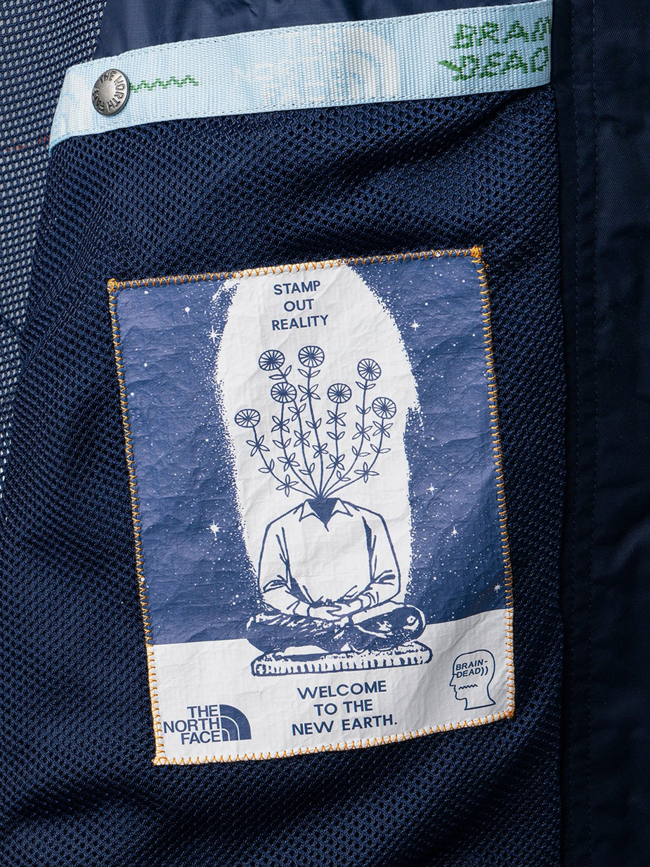 Brain Dead Brain Dead x The North Face Oversized Mountain Chore Coat - TNF Navy - Navy